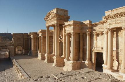 Древняя Пальмира в Сирии откроется для туристов