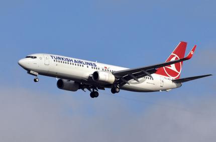 Turkish Airlines запустит Wi-Fi на всех своих рейсах