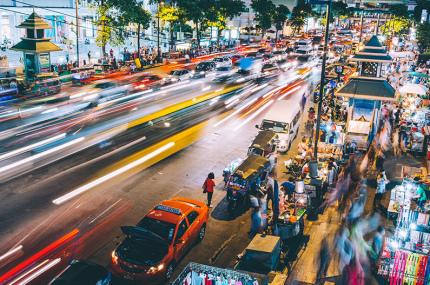 В Бангкоке арестовали тысячи таксистов за отказ обслуживать пассажиров