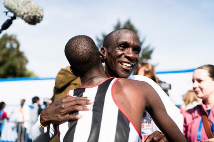 Установлен новый мировой рекорд в марафонском беге