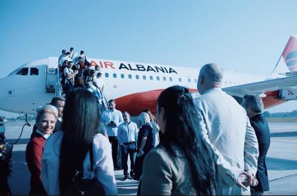 В Албании создали национальную авиакомпанию