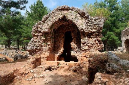 Античная деревня рядом с Антальей открылась для туристов