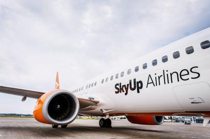 SkyUp запустил продажу билетов на международные рейсы