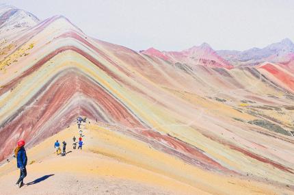 Радужные горы в Перу станут заповедником