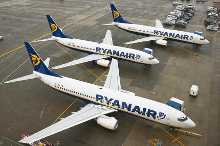Ryanair анонсировал 6 новых направлений из Польши