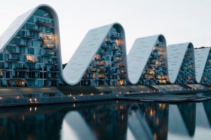 В Дании достроили необычное здание