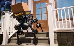 Немецкая фирма разрабатывает роботов-собак для доставки посылок