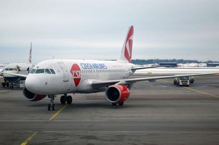 Czech Airlines снова будет летать из Праги в Одессу