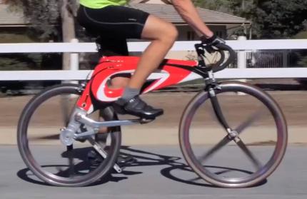 Американский стартап разработал велосипед без цепи