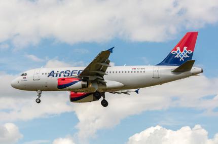 Air Serbia снова будет летать из Киева в Белград