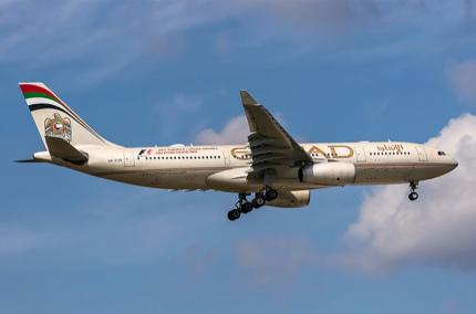 Etihad Airways выполнила первый рейс на биотопливе