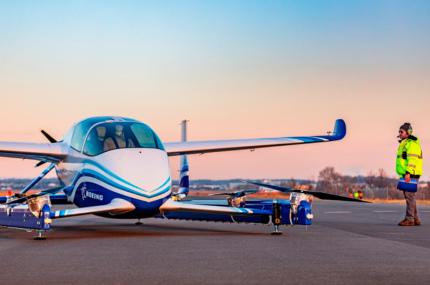 Boeing провёл успешное тестирование беспилотного такси