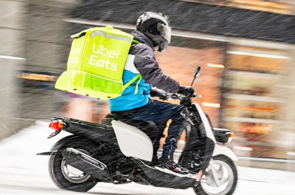 Uber Eats теперь работает в Киеве