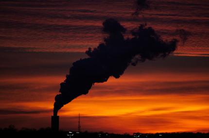 В Европе зафиксировали рекорд загрязнённости воздуха