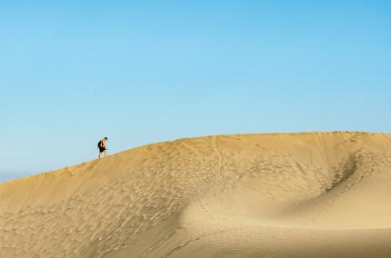 На одном из Канарских островов запретили рисовать на песке