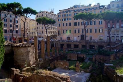 Место убийства Цезаря в Риме откроют для посещений
