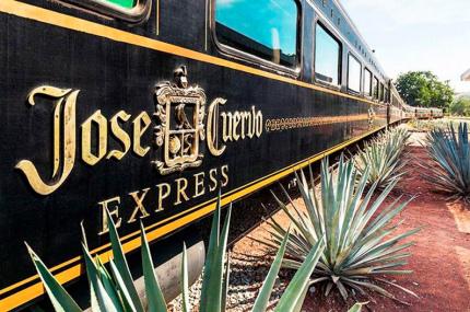 В Мексике организовывают экскурсии на винтажном текила-поезде