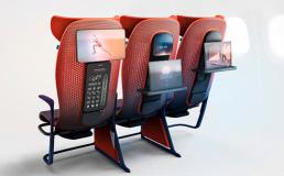 Airbus разрабатывает премиум кресла для экономкласса