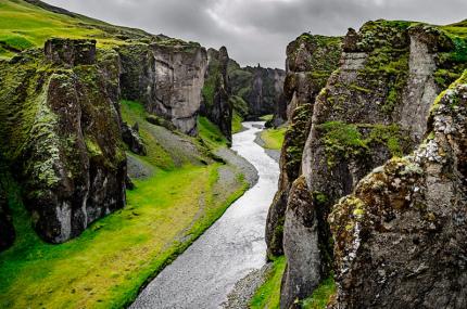 Исландия временно закрыла каньон для туристов