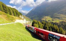 Швейцарский Ледниковый экспресс обзавёлся премиум-вагонами