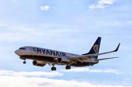 Ryanair вошёл в число крупнейших загрязнителей воздуха, наравне с угольными заводами