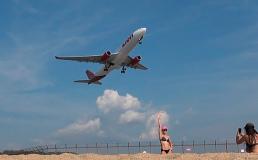 На тайском пляже рядом с аэропортом запретили делать селфи