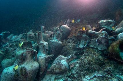 В Греции откроется подводный музей для дайверов
