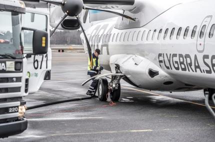 Шведские авиалинии перейдут на биотопливо