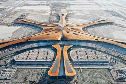В Пекине скоро откроется аэропорт по проекту Захи Хадид