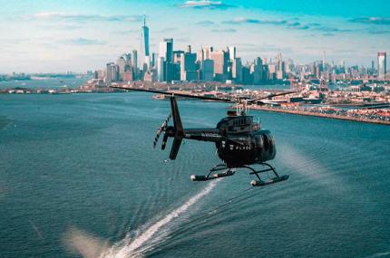 В Нью-Йорке теперь можно добраться до любого аэропорта на вертолёте