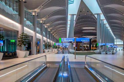 Turkish Airlines откроет в новом аэропорту Стамбула пять лаунжей