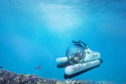 В Австралии запустили подводный Uber