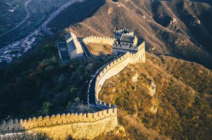 Китай ограничил посещение Великой китайской стены