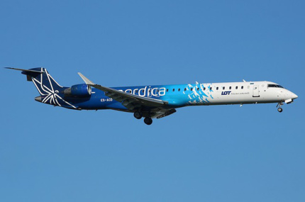 Nordica отменит рейсы из Киева в Таллинн