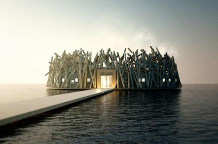 Шведский отель на воде открыл бронирование номеров