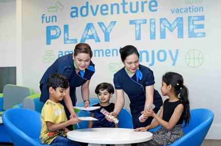В аэропорту Дубая открылся отдельный лаунж для детей