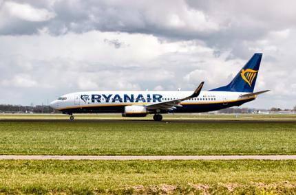 Ryanair дарит скидку пассажирам Wizz Air из Киева, чьи рейсы были отменены