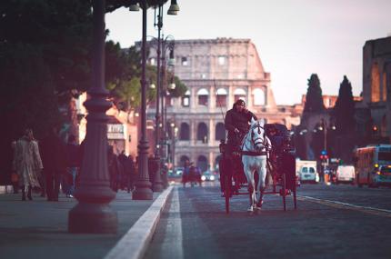 С римских улиц исчезнут конные экипажи