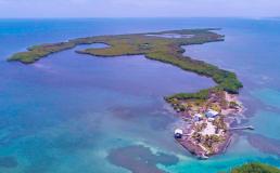 В Белизе продаётся тропический остров