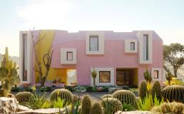 В Мексике построили инстаграмный дом