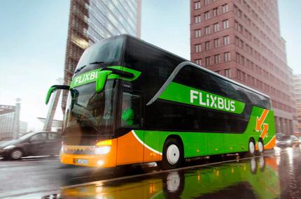 FlixBus анонсировал три новых рейса из Киева