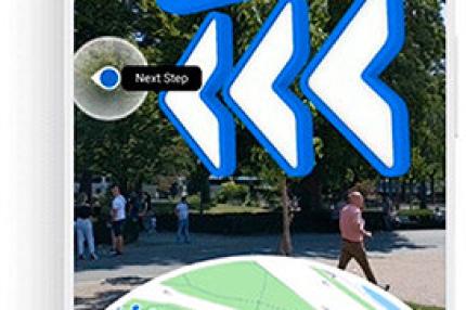 В Google Maps появилась навигация через дополненную реальность