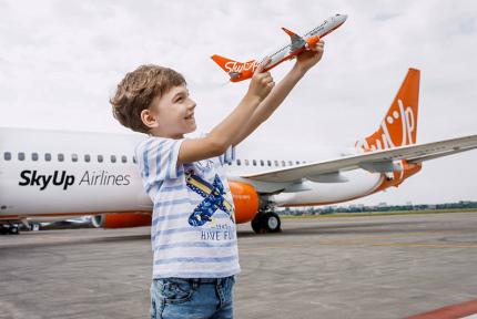 SkyUp запускает розыгрыш сюрпризов среди пассажиров