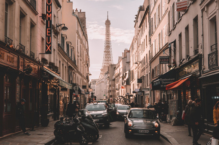 В Париже тестируют шумовые радары для машин