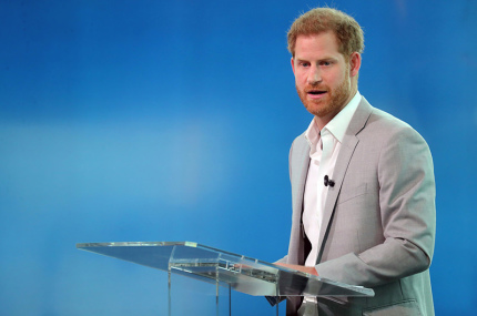 Принц Гарри выступает в поддержку устойчивого туризма