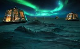 Отель на Северном полюсе открыл бронирование номеров по цене от 95000€