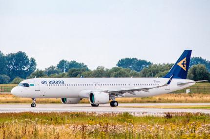 Air Astana приобрела новый Airbus, на борту которого есть кровати
