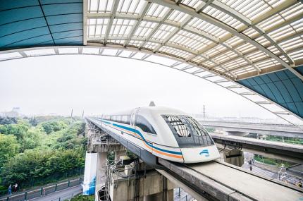 Китай хочет разогнать поезд до 1000 км/час