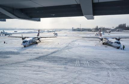 Киевский аэропорт Жуляны будет закрыт на капитальный ремонт