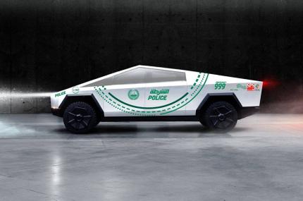 Полиция Дубая будет патрулировать улицы на новых Tesla Cybertruck